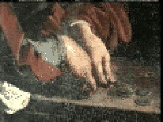 Particolare dalla Vocazione di S.Matteo