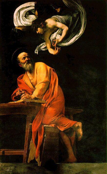 L'attuale versione di S.Matteo e l'Angelo