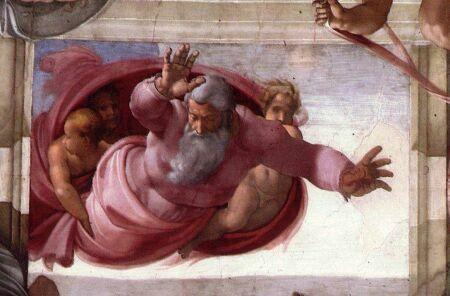 La volta michelangiolesca della sistina per una catechesi - Pagina da colorare di una bibbia ...