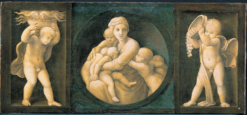 Le tre virtù cristiane - imagine grande e altre immagini sul tema sul sito (belle!) dans immagini sacre carita