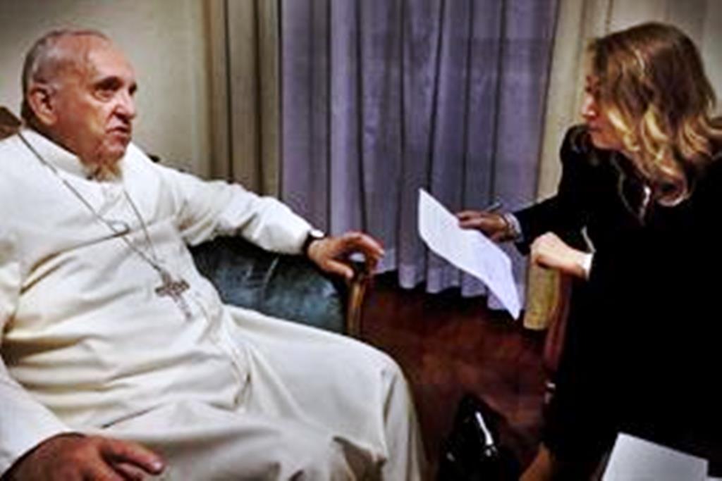 Coraggio Di Parlare Umilta Di Ascoltare Un Intervista A Papa Francesco Di Elisabetta Pique Diario