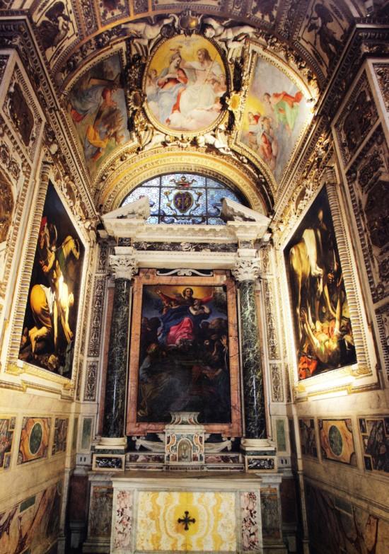 Decorazione Delle Pareti Opere Darte : Caravaggio opere straordinarie ma all interno di un