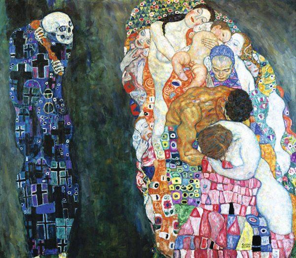 Frasi Di Klimt Sulla Vita.Gustav Klimt Il Mio Regno Non E Di Questo Mondo Un Oro Che Inganna E La Ricerca Di Un Bacio Metafisico Perche Quello Umano E Troppo Deludente Di Andrea Lonardo Diario