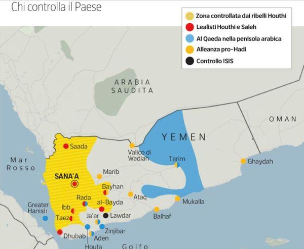 Cartina Yemen.Yemen Una Guerra Dimenticata Ora Nel Quarto Anniversario Dell Inizio Di Michele Farina Viviana Mazza Guido Olimpio E Marta Serafini Diario