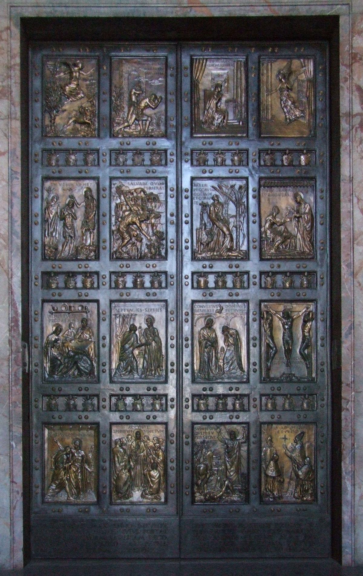 Porta santa san pietro vico consorti - Immagini porta santa ...