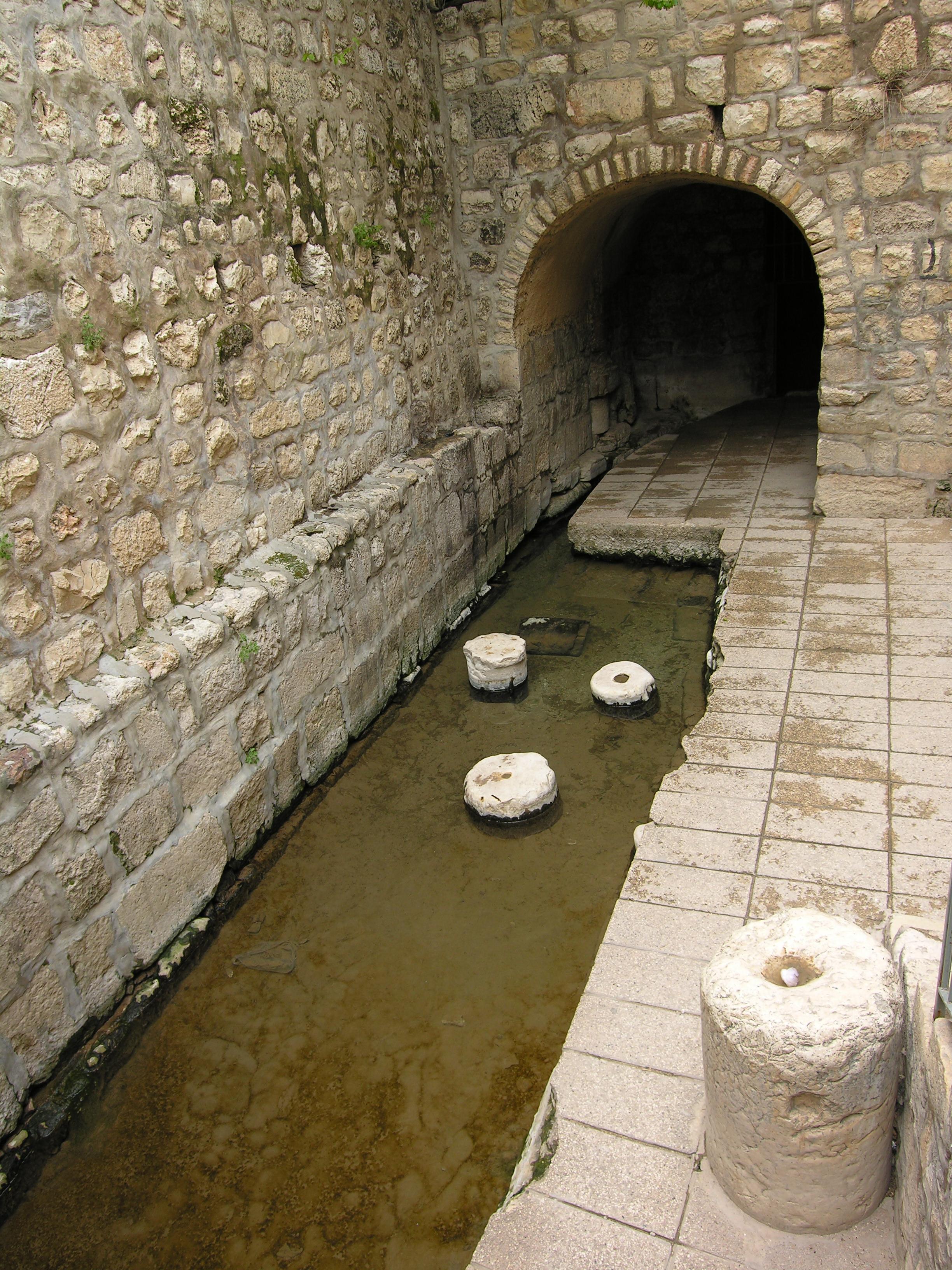 la piscina di siloe