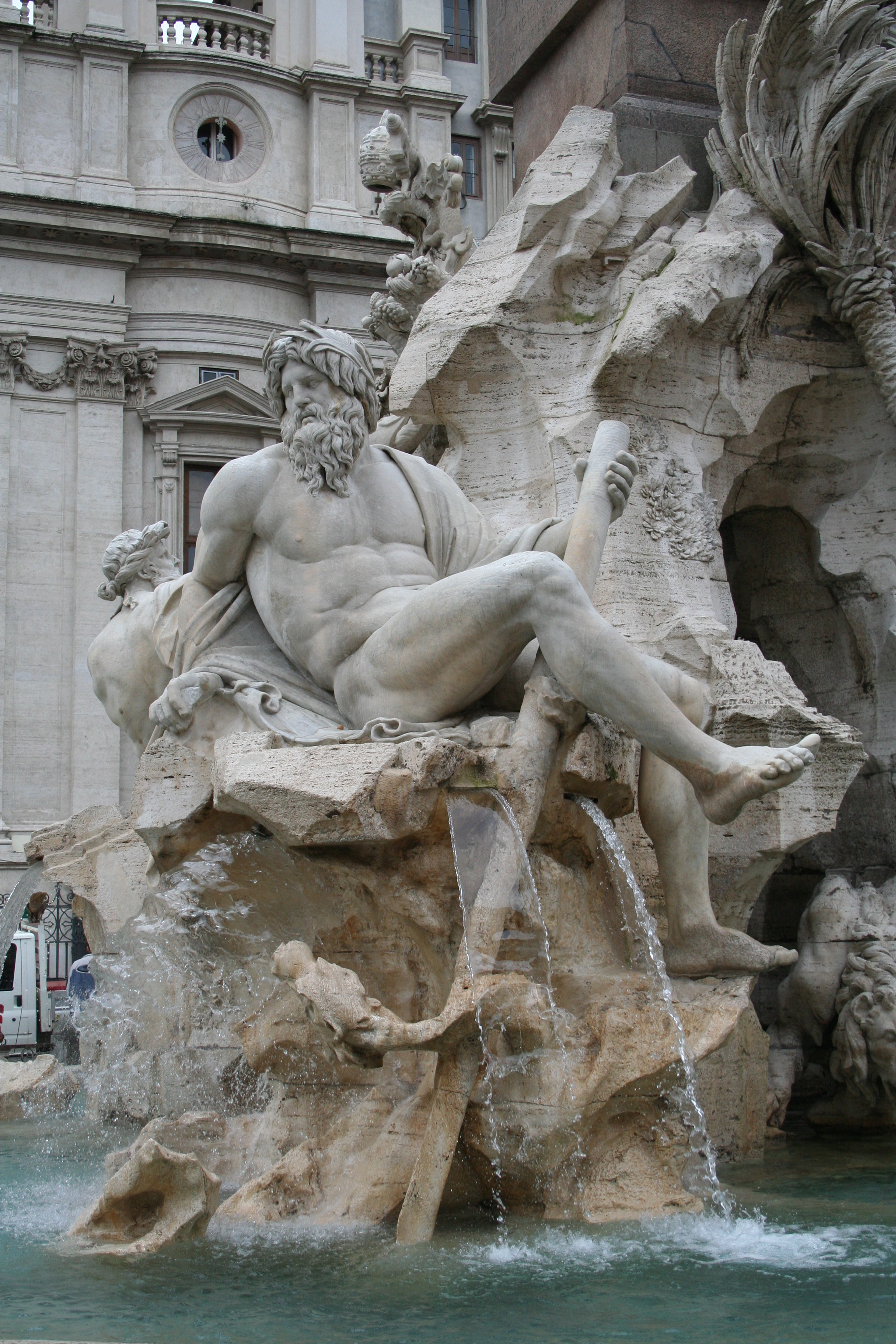Lo Stile Di Bernini.Gian Lorenzo Bernini Piazza Navona Fontana Dei Quattro Fiumi Il