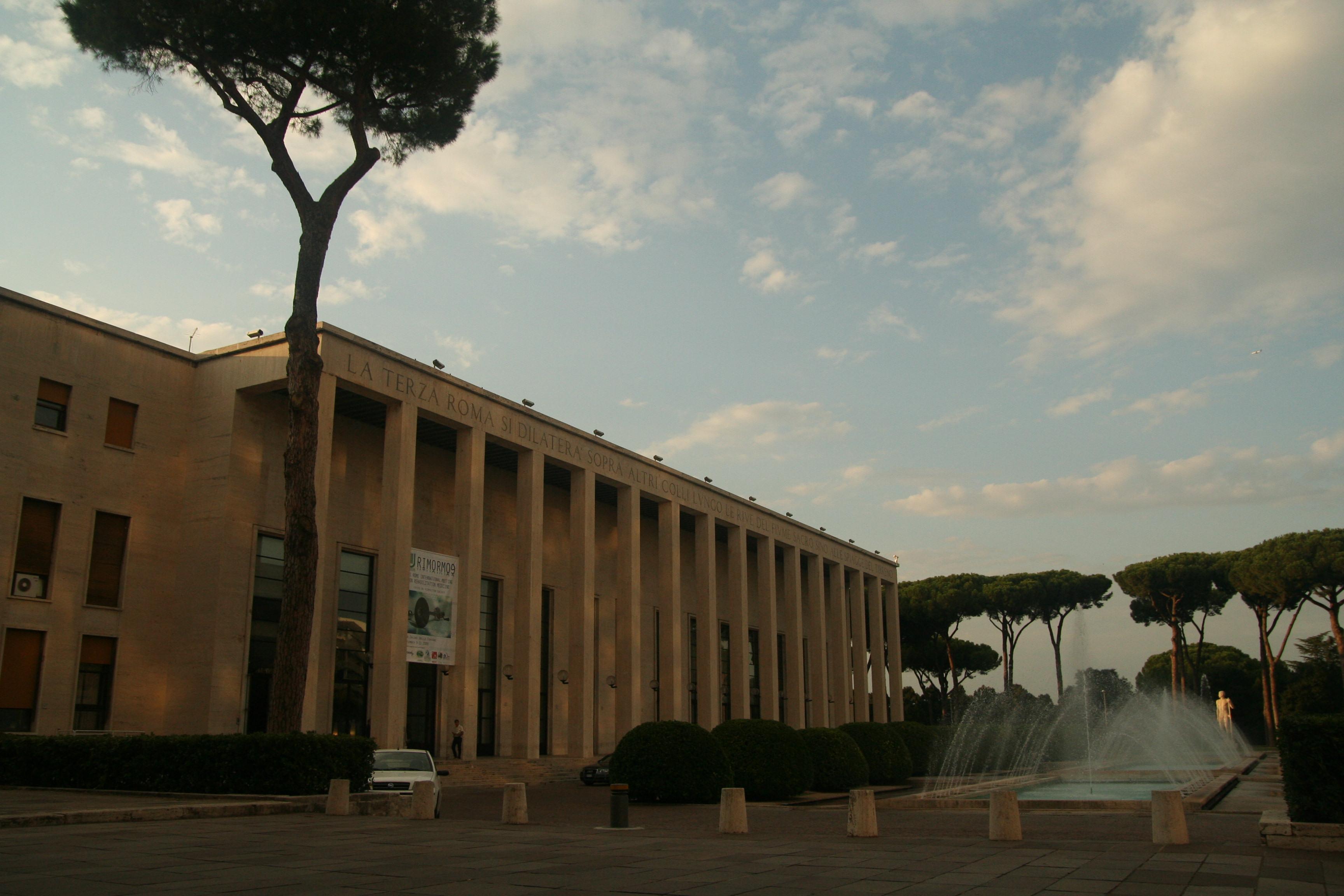 Palazzo degli uffici sede dell 39 ente autonomo eur for Uffici zona eur