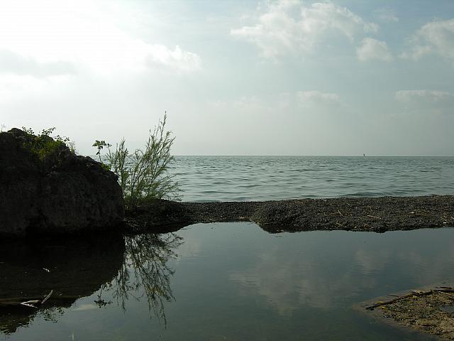 Il lago di Tiberiade