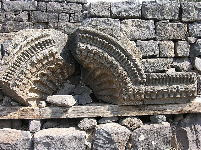 Corazin: resti della sinagoga