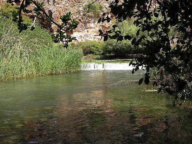 Le sorgenti del Giordano a Banyas
