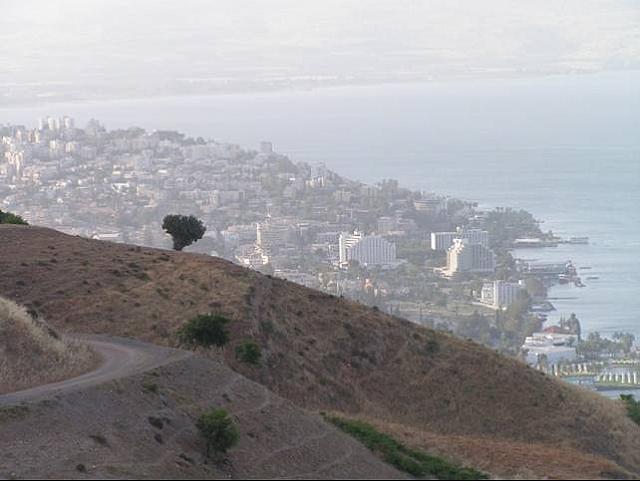 La città di Tiberiade